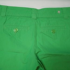 Lilly Pulitzer Shorts - Lilly Pulitzer Shorts Green Resort Fit Size 2